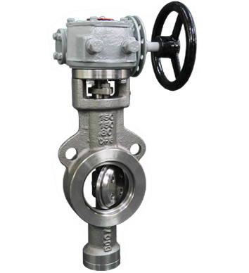 Triple Offset Butterfly Valve - BUV126