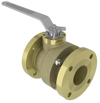 2pc Cast FB Ball Valve - BAV04