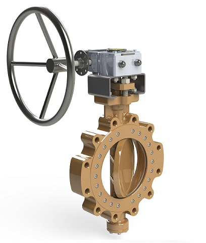 Double Offset Butterfly Valve - BUV124