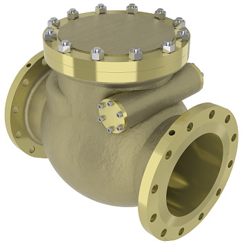 External Mount Swing Check Valve - SCV30/31